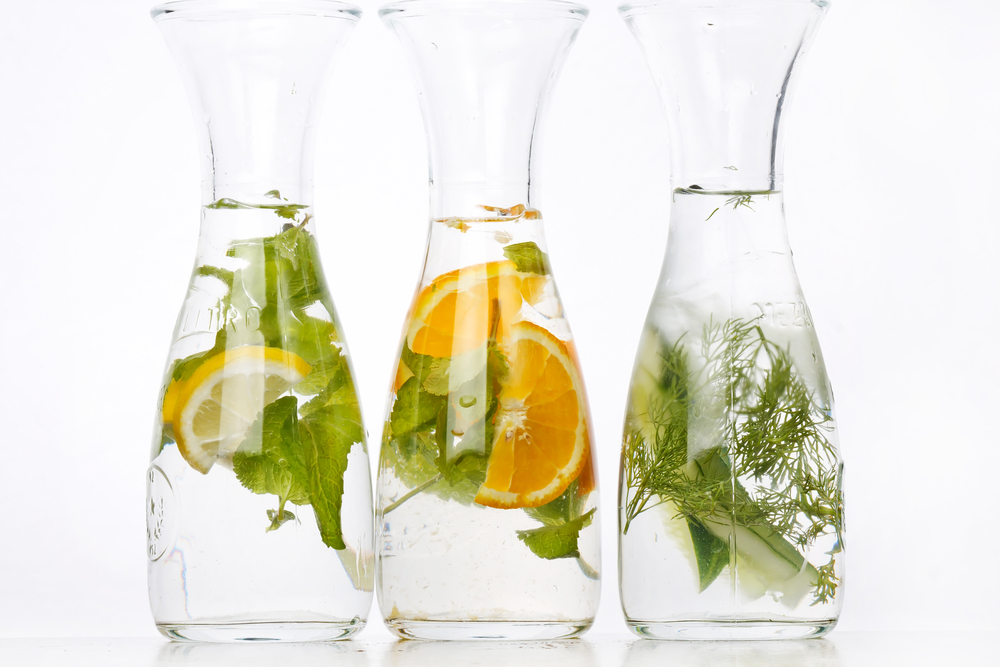 Herb-infused-water