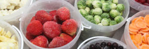 How to freeze fruits and vegetables
